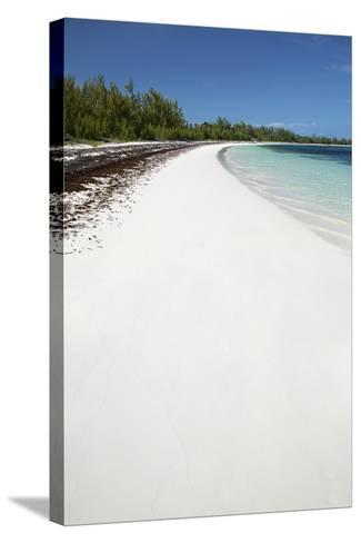 Winding Bay Beach II-Larry Malvin-Stretched Canvas Print