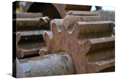 Gears II-Brian Moore-Stretched Canvas Print