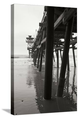 Pier Pilings 17-Lee Peterson-Stretched Canvas Print