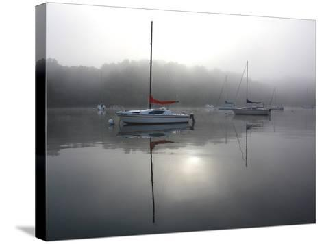 Red Sail-Tammy Putman-Stretched Canvas Print