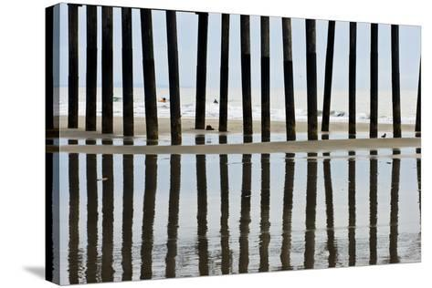 Pier Pilings 23-Lee Peterson-Stretched Canvas Print