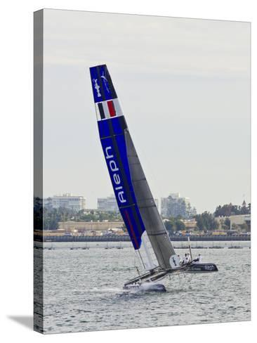 America's Cup I-Lee Peterson-Stretched Canvas Print