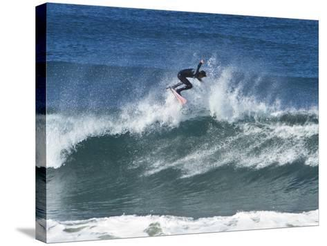 Surfing III-Lee Peterson-Stretched Canvas Print