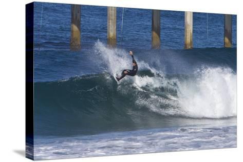 Surfing IV-Lee Peterson-Stretched Canvas Print