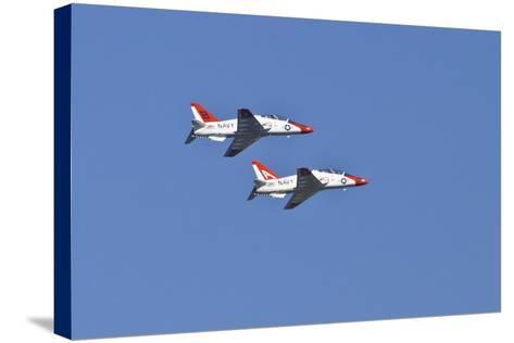 Air Show II-Lee Peterson-Stretched Canvas Print