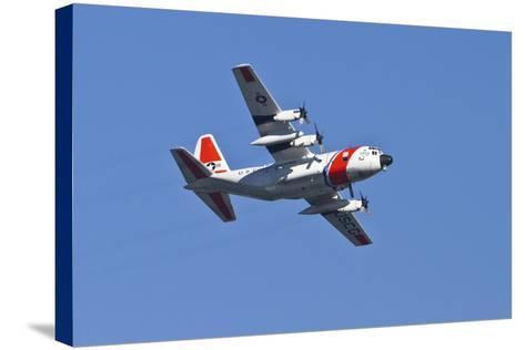 Air Show V-Lee Peterson-Stretched Canvas Print