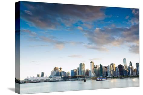 From Stanley Park III-Bob Stefko-Stretched Canvas Print