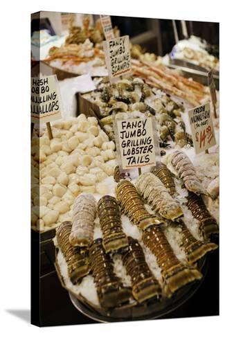 Fresh Seafood I-Bob Stefko-Stretched Canvas Print