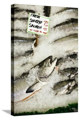 Fresh Seafood II-Bob Stefko-Stretched Canvas Print