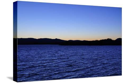 Water Sky Blue-Logan Thomas-Stretched Canvas Print