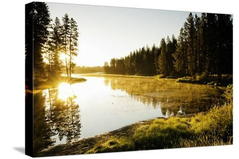 Winchester Lake I-Bob Stefko-Stretched Canvas Print