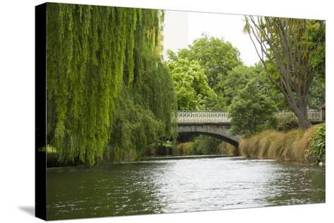 Avon River I-George Johnson-Stretched Canvas Print