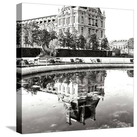 Jardin des Tuileries I-George Johnson-Stretched Canvas Print
