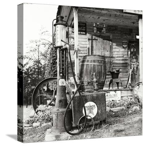 Sautee Store II-George Johnson-Stretched Canvas Print