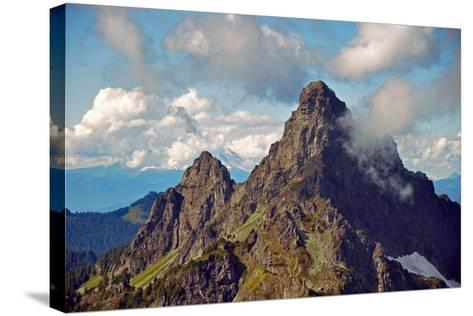 Glacier Peak I-Brian Kidd-Stretched Canvas Print