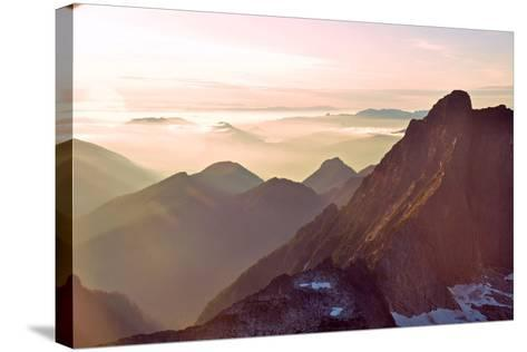 Glacier Peak II-Brian Kidd-Stretched Canvas Print