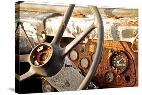 Old Bus II-Brian Kidd-Stretched Canvas Print