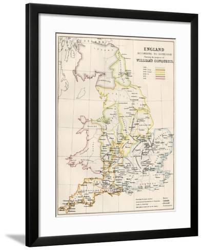England at the Time of the Norman Conquest, 1066-1081--Framed Art Print