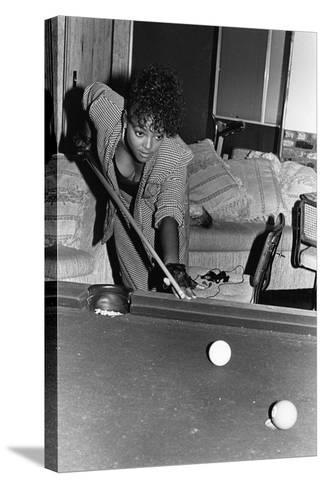 Kim Fields, 1987-Isaac Sutton-Stretched Canvas Print