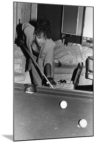 Kim Fields, 1987-Isaac Sutton-Mounted Photographic Print
