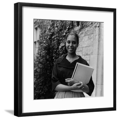 Denise Nicholas, 1960-Isaac Sutton-Framed Art Print