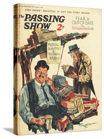 1930s UK The Passing Show Magazine Advertisement--Stretched Canvas Print
