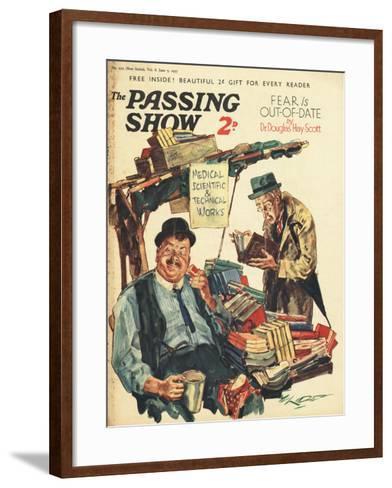 1930s UK The Passing Show Magazine Advertisement--Framed Art Print