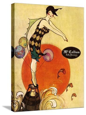 1910s USA McCallum Magazine Advertisement--Stretched Canvas Print