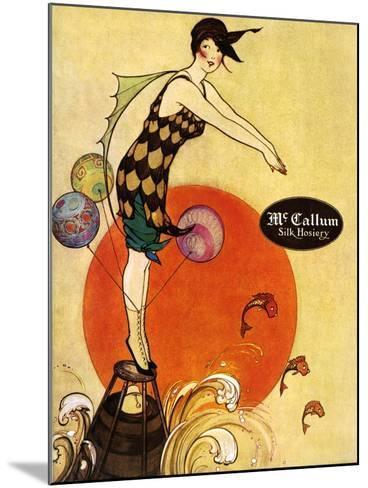 1910s USA McCallum Magazine Advertisement--Mounted Giclee Print