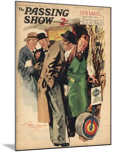 1930s UK The Passing Show Magazine Cover--Mounted Giclee Print