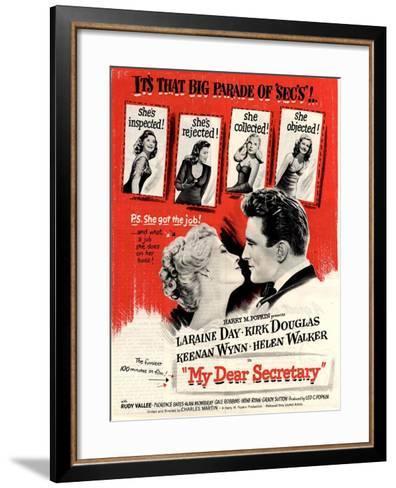 usa my dear secretary film poster 1940s giclee print by art com