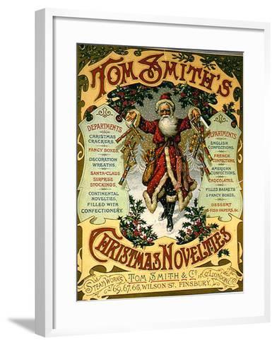 1900s UK Tom Smith's--Framed Art Print