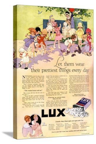1910s USA Lux Magazine Advertisement--Stretched Canvas Print
