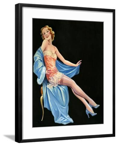 1940s UK Pin-Ups Poster--Framed Art Print