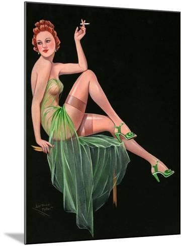 1940s UK Pin-Ups Poster--Mounted Giclee Print