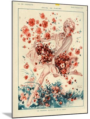 1920s France La Vie Parisienne Magazine Plate--Mounted Giclee Print