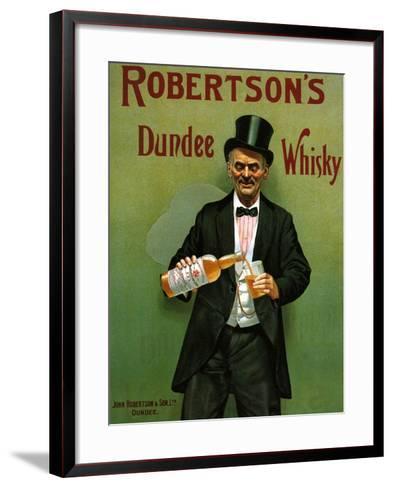 1900s UK Robertson's Poster--Framed Art Print