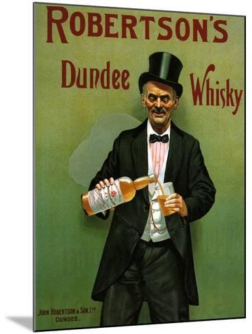 1900s UK Robertson's Poster--Mounted Giclee Print