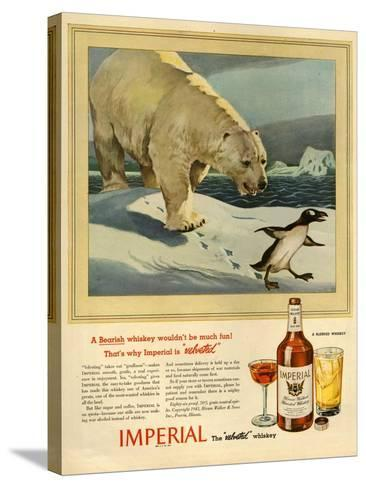 1940s USA Imperial Magazine Advertisement--Stretched Canvas Print
