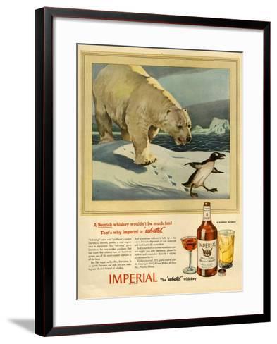 1940s USA Imperial Magazine Advertisement--Framed Art Print