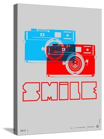 Smile Camera Poster-NaxArt-Stretched Canvas Print
