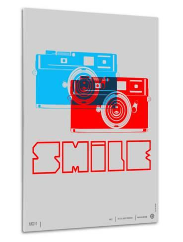 Smile Camera Poster-NaxArt-Metal Print