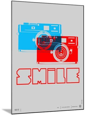 Smile Camera Poster-NaxArt-Mounted Art Print
