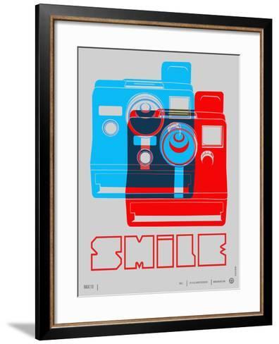 Smile Polaroid Poster-NaxArt-Framed Art Print