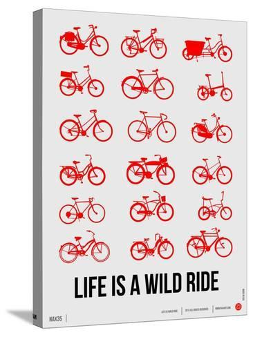 Life is a Wild Ride Poster II-NaxArt-Stretched Canvas Print