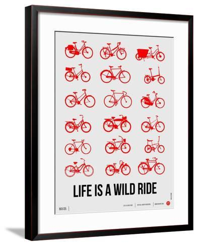 Life is a Wild Ride Poster II-NaxArt-Framed Art Print