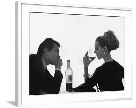 Vogue - April 1962-Bert Stern-Framed Art Print