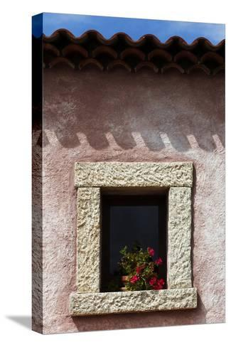 A Window of the Tenuta Pilastru Near Arzachena, Sardinia-Dave Yoder-Stretched Canvas Print