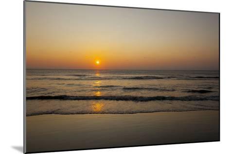 Sunrise At the Beach in Corolla, North Carolina-John Burcham-Mounted Photographic Print