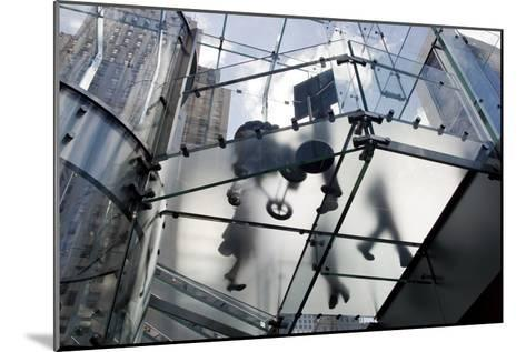 The Glass Apple Store On Fifth Avenue in New York City-Ira Block-Mounted Photographic Print